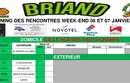Planning des rencontres 06 et 07 janvier !